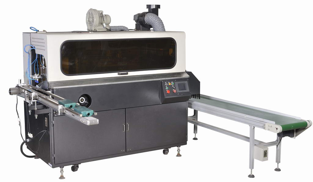 Fully Automatic Single Color Screen Printing Machine for Glass Bottle.