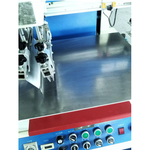 Vacuum Table Flat Screen Printing Machines for Big Sign