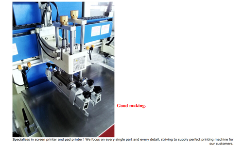 Horizontal-Lift Half-tone Screen Printing Machine