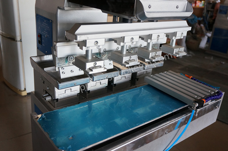 Semi-auto 4 Colors Tampo Printing Machine