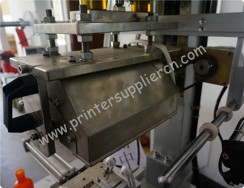 Multi function hot foil stamping machine for flat, oval and round