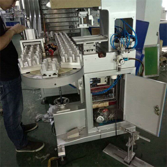 Fully Automatic Four Colors Bottle Cap Pad Printer