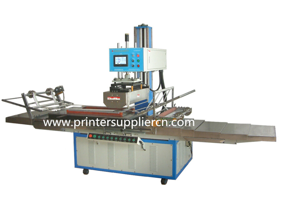 Big flat surface hot stamping machine