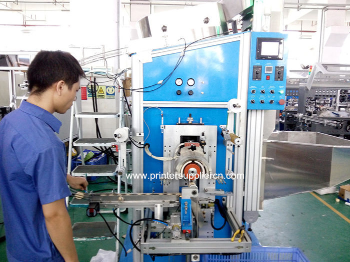 Fully Automatic Hot Stamping Machine For Irregular Shape Cap