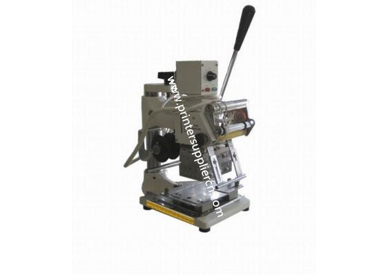 Manual hot stamping machine for card
