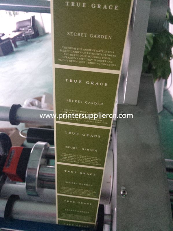 Labeling Printing Machine for Paper Box ,Label Machine for Paper Card