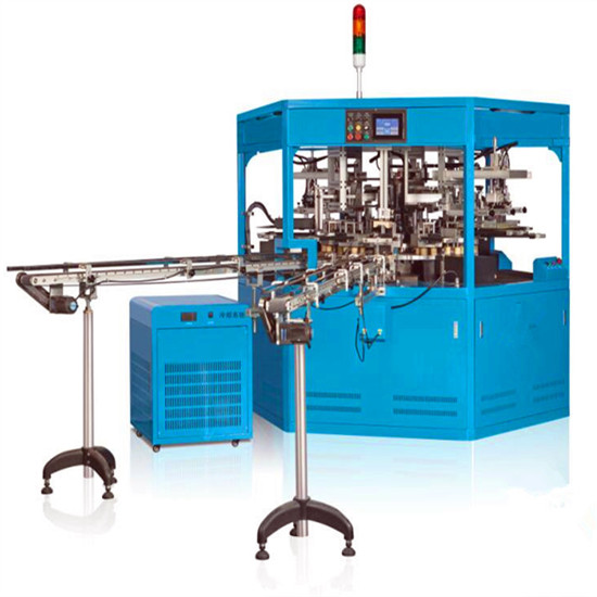 Fully Automatic Four Color Glass Bottle Screen Printing Machine