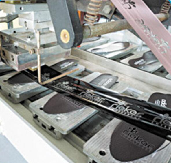 Four Color Pad Printing and Hot Stamping Machine for Shoe-pad