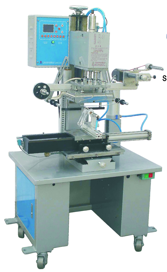 China Hot Foil Stamping Machines for Flat Round