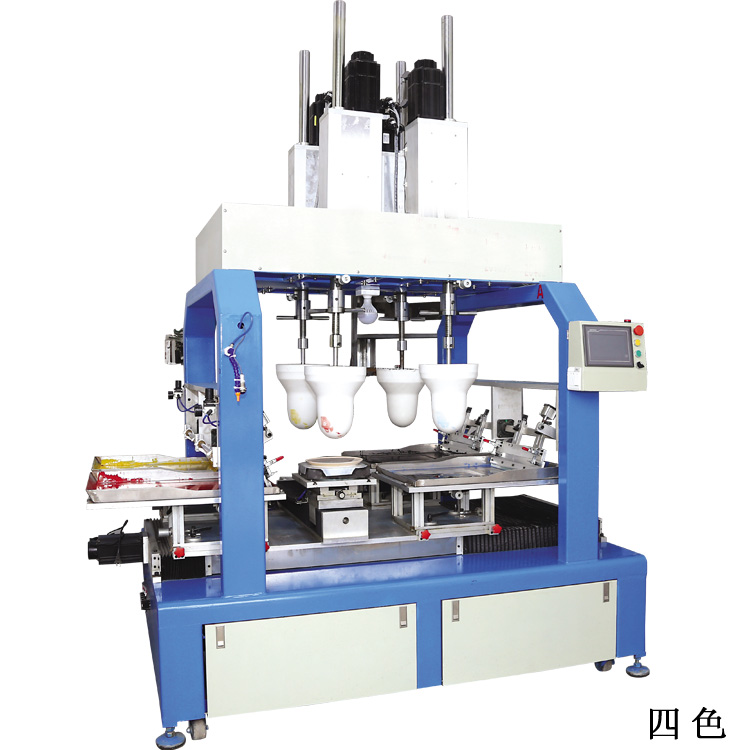 Four Color Pad Printing Machine for Ceramic Bowl