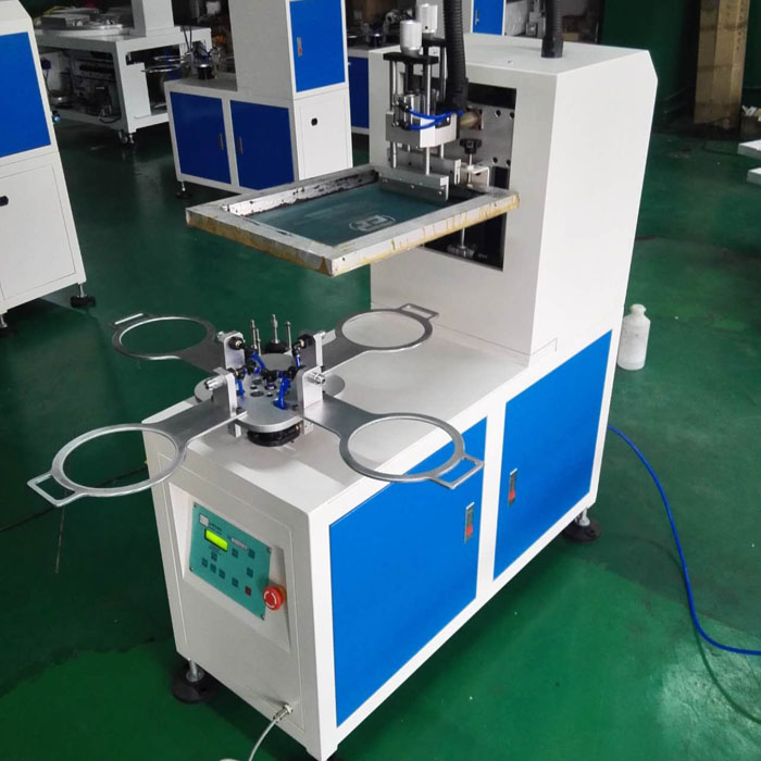 Four Rotary Stations Balloon Screen Printer Machine