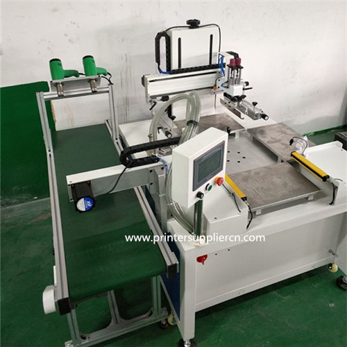 Automatic Screen Printing Machine for Shoe insoles(with hot-air drier)