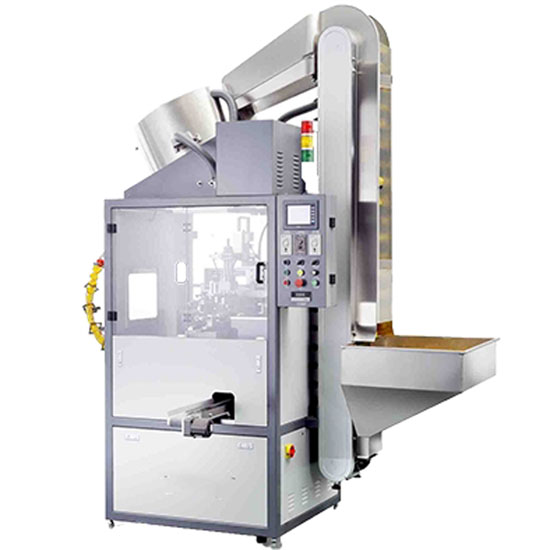 Automatic screen printing machine for medicine dropper pipette
