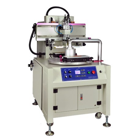 High Speed Screen Printer with  2 Rotary Tables for Mobile Film