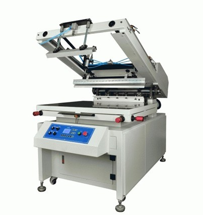Oblique Arm Flat Serigraphy Printer for Poster