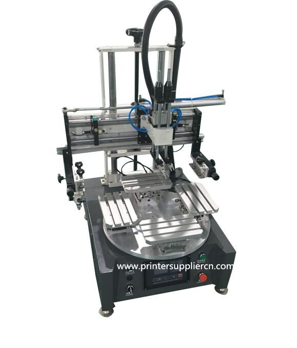4 Stations Rotary Silk Screen Machines for Mobile Case
