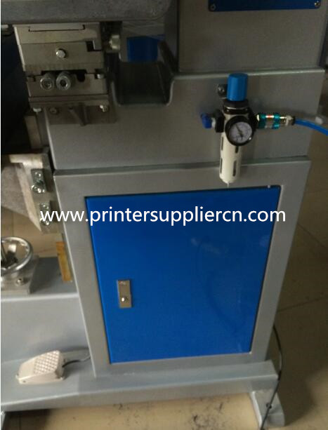 Single Color Cylinder Pad Printing Machine